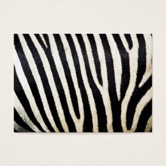 Zebra Stripes Background Pattern Business Card