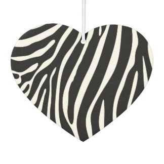 Zebra Stripes Car Air Freshener