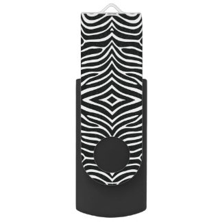 Zebra Stripes Design Flash Drive