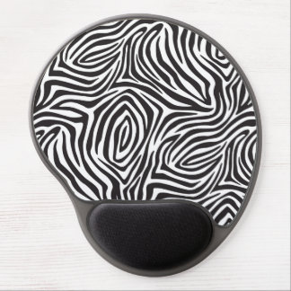 Zebra Stripes Gel Mousepad
