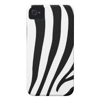Zebra stripes in black and white pattern design Case-Mate iPhone 4 case