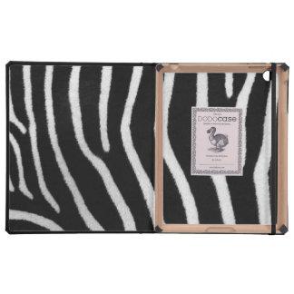 Zebra Stripes iPad Cover