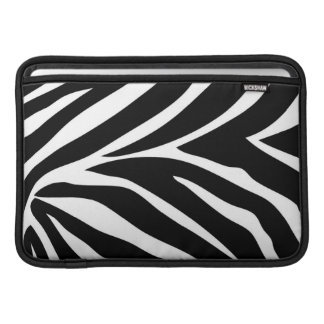 """Zebra Stripes"" MacBook Air 11"" Horizontal Sleeve MacBook Air Sleeves"