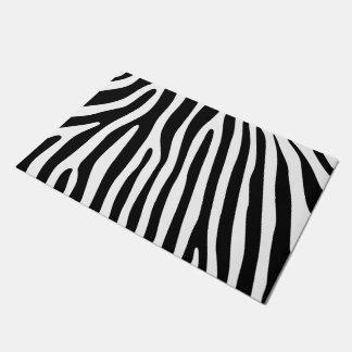 Zebra stripes pattern + your background & ideas doormat