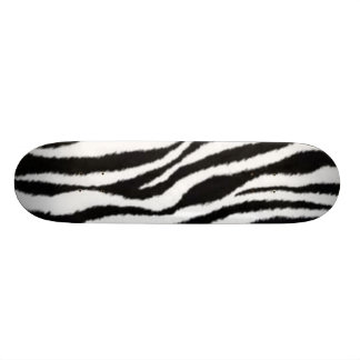 zebra Stripes Skateboard