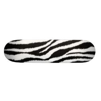zebra Stripes Skateboard