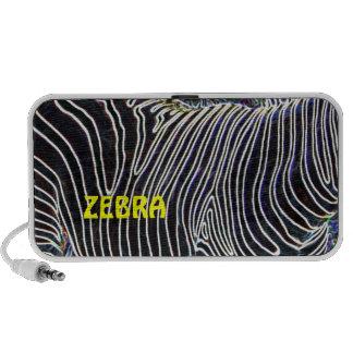 Zebra Stripes Laptop Speaker