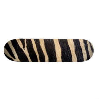 Zebra Stripes Wildlife Animal Art skateboard deck