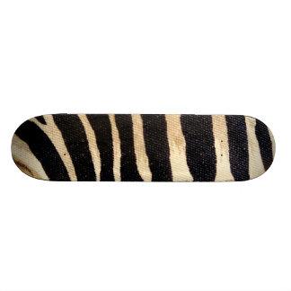 Zebra Stripes wildlife Art Skateboard deck art