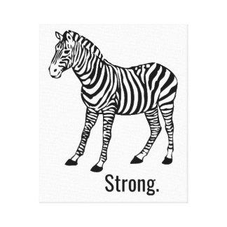 Zebra Strong SIgn