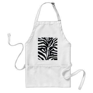 Zebra Style Apron