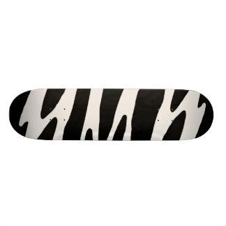 Zebra Style Skateboard