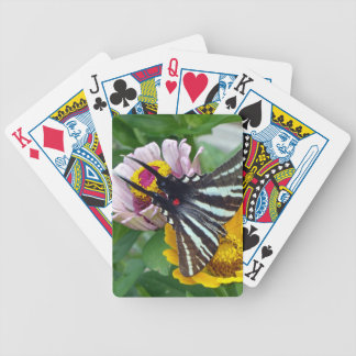 Zebra Swallowtail+Japanese Beetle Bicycle Playing Cards