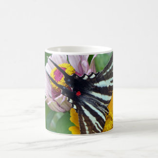Zebra Swallowtail+Japanese Beetle Coffee Mug