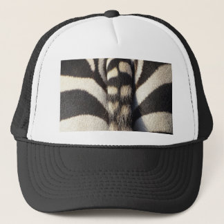 Zebra Tail Trucker Hat