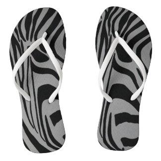 zebra thongs