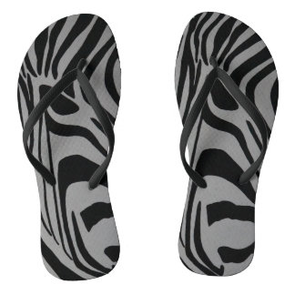zebra thongs