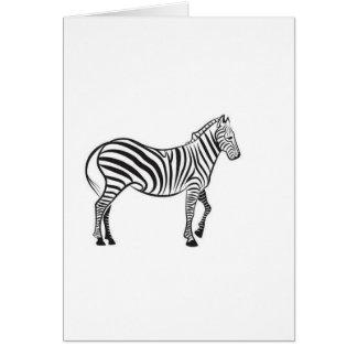 Zebra vector card