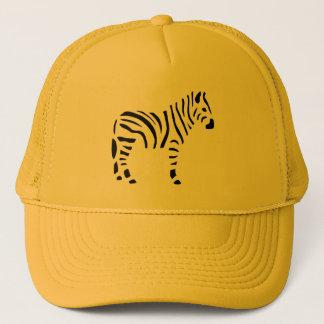 Zebra Zebras Animals Cartoon Trucker Hat
