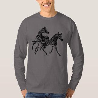 Zebra Zebras Vintage Animal Wildlife T-Shirt