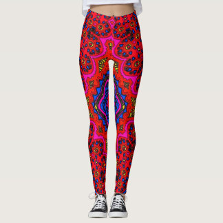 Zebra Zen Mandala Yoga Meditation Leggings