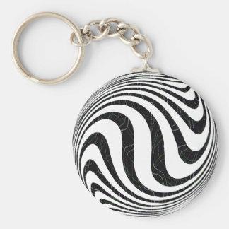 Zebraic Key Ring