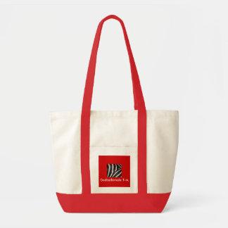 Zebrano amazing stylish bag red - Customized