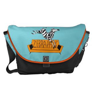 ZebraPark Messenger Bag