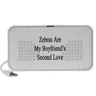 Zebras Are My Boyfriend s Second Love iPhone Speakers