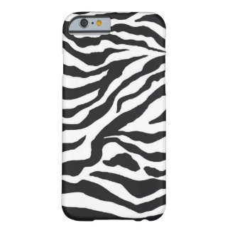 ZEBRAS BY EKLEKTIX BARELY THERE iPhone 6 CASE