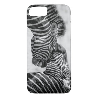 Zebras by storeman iPhone 8/7 case