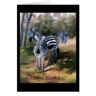 Zebras Cards
