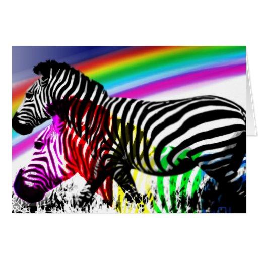 Zebras ' dream comes true card