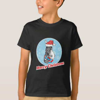 Zebra's Merry Christmas T-Shirt