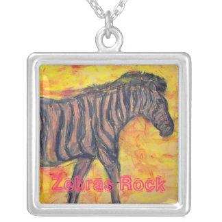 Zebras Rock Custom Jewelry