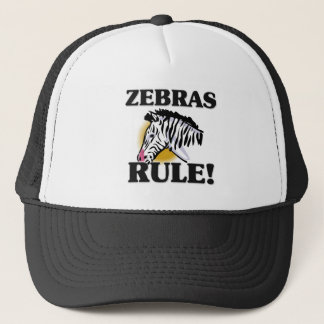 ZEBRAS Rule! Trucker Hat