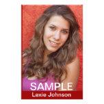 Zed Card Models - Actors Headshots Full Color Flyer