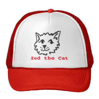 Zed the Cat Trucker Hat