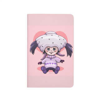 ZEDA CUTE ALIEN CARTOON Pocket Journal 2