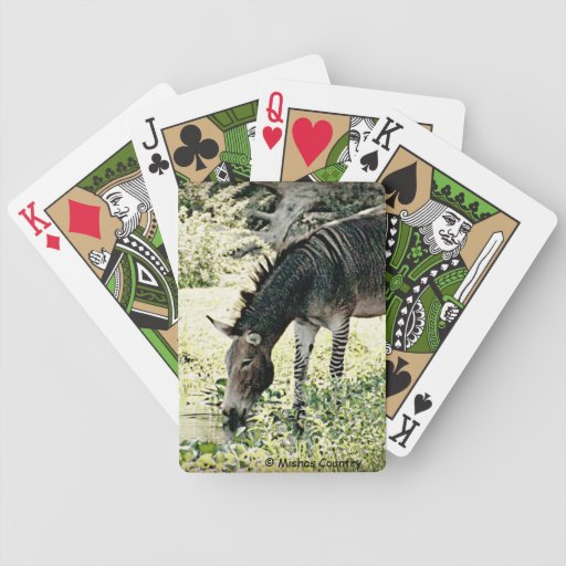"""Zedonk"" Bicycle Card Deck"