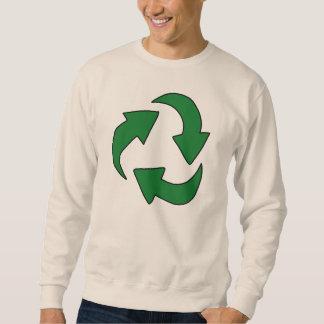 Zeelog Sweatshirt Logo - Earth Day/Recycle/GoGreen