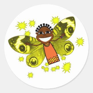 Zeena Smile Classic Round Sticker
