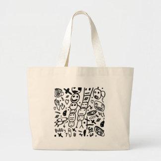 Zef Prawn Large Tote Bag