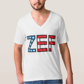 ZEF Ugly Boy V-Neck T-Shirt