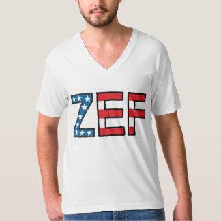 ZEF Ugly Boy V-Neck Tee Shirts