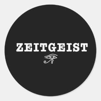 Zeitgeist Classic Round Sticker