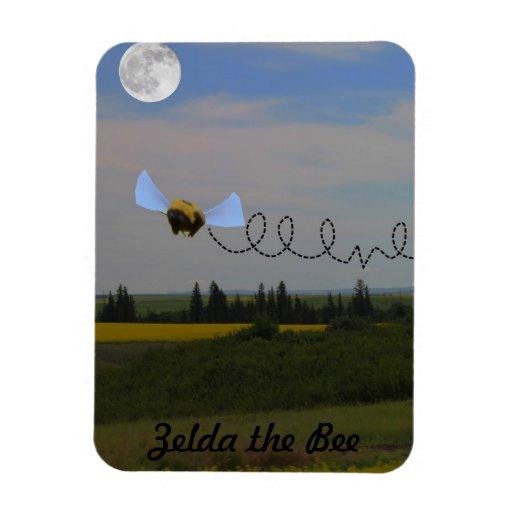 Zelda the Bee Magnet