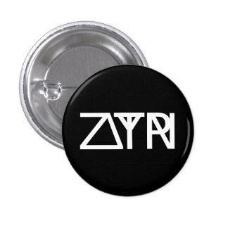 Zelta Upsilau Rhu 3 Cm Round Badge