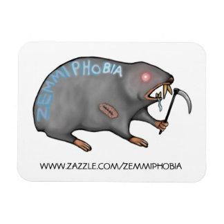 Zemmiphobia Logo Rectangular Photo Magnet