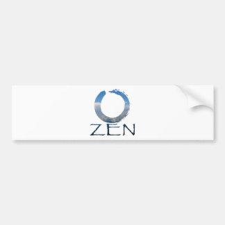 zen-2 car bumper sticker